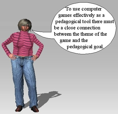How to use computer games pedagogically