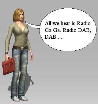 DAB Radio becomes Radio Ga Ga