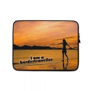 Laptop Sleeve Beach