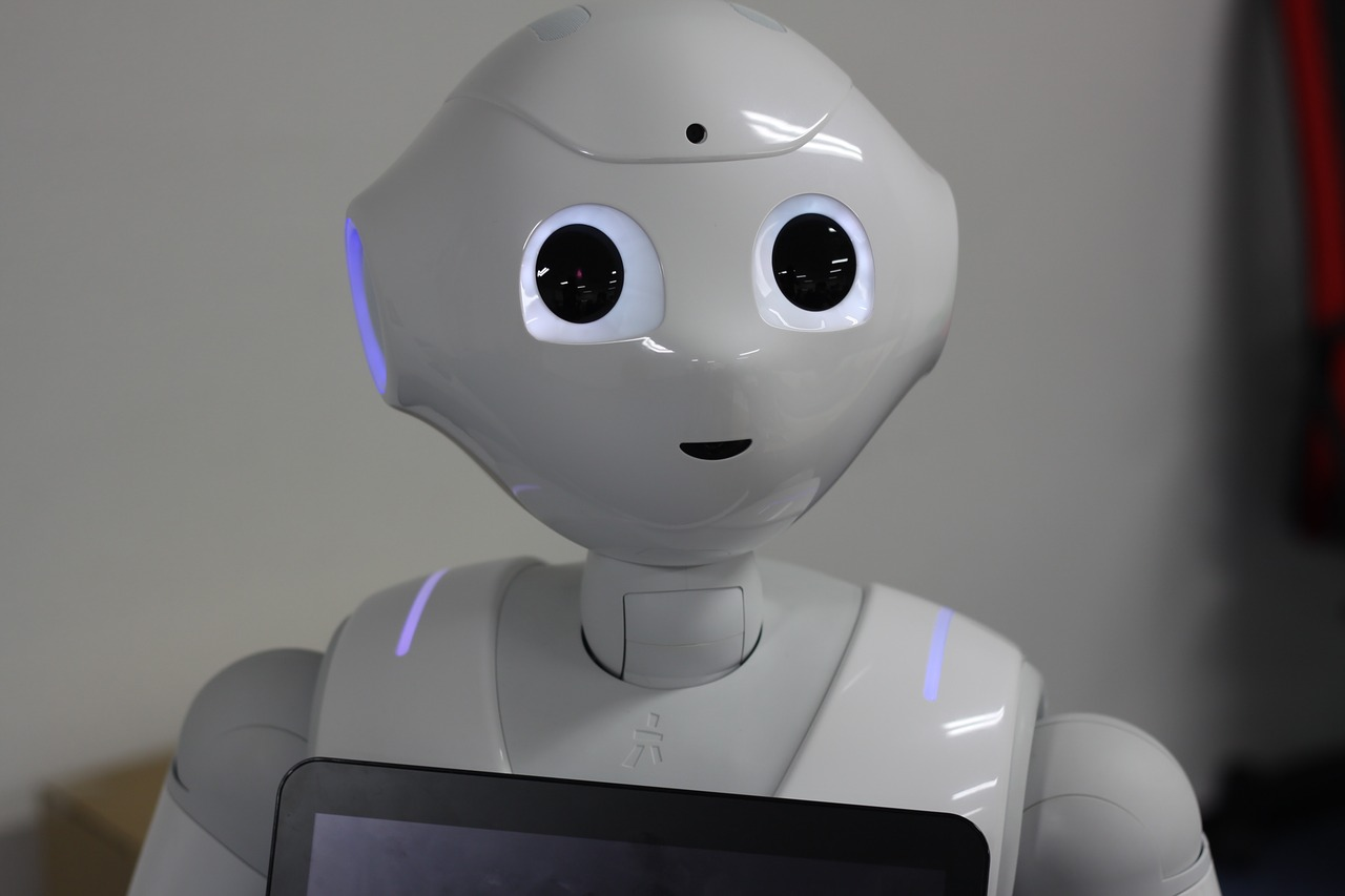 Robots empower student's engagement to learn