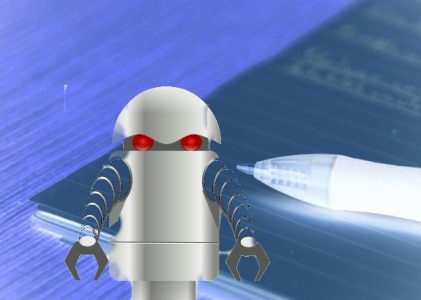 Latest News: Improves handwriting and writing skills by teaching robots