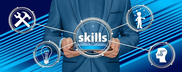 Job skills trends with focus on performance, health and tech